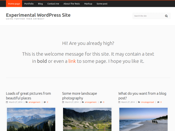 Carrot Lite wordpress theme