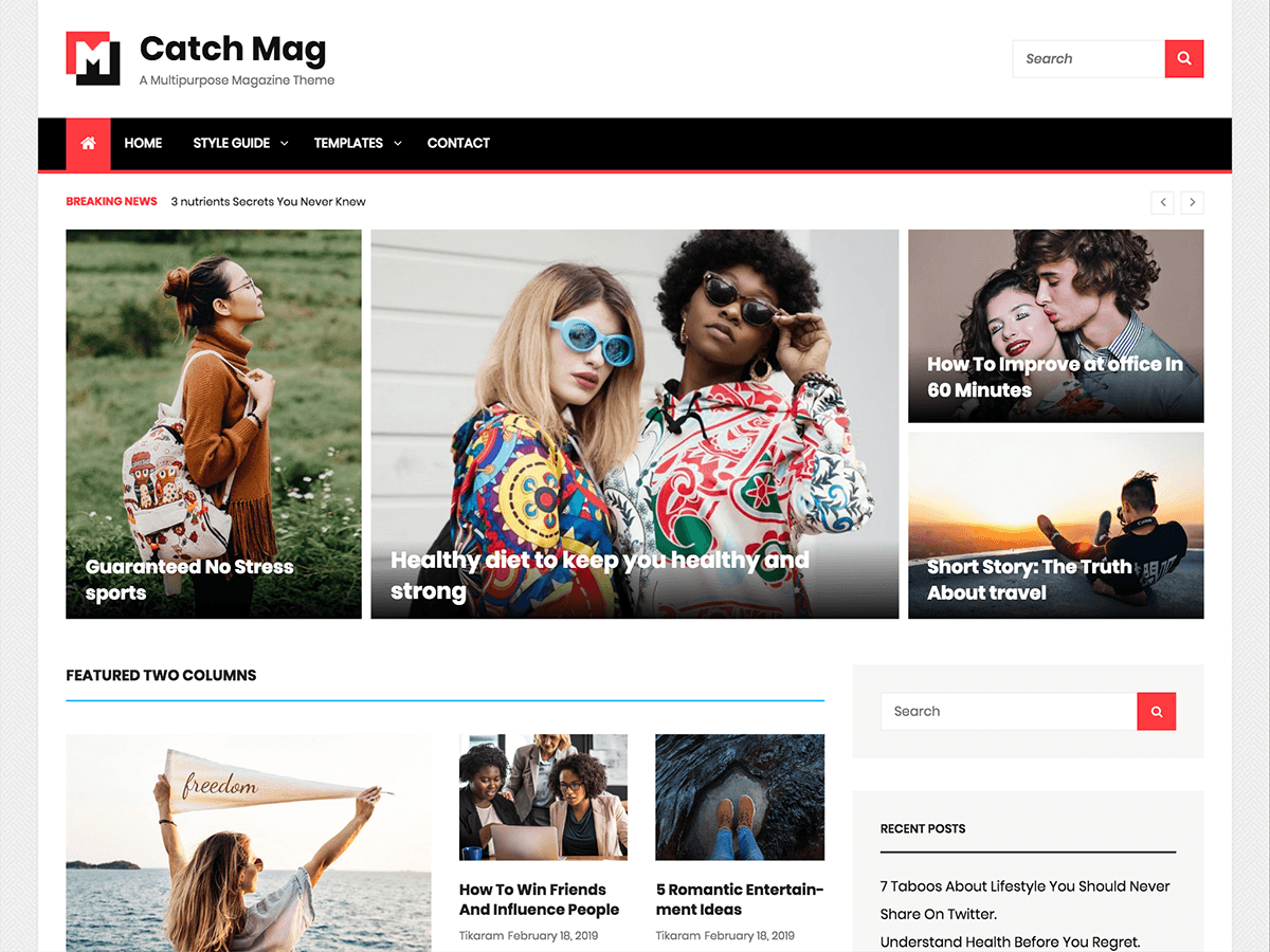 WordPress主题:Catch Mag