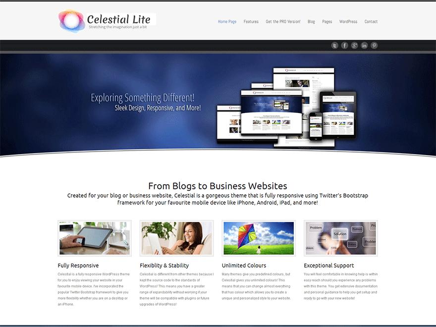 Celestial - Lite free wordpress theme
