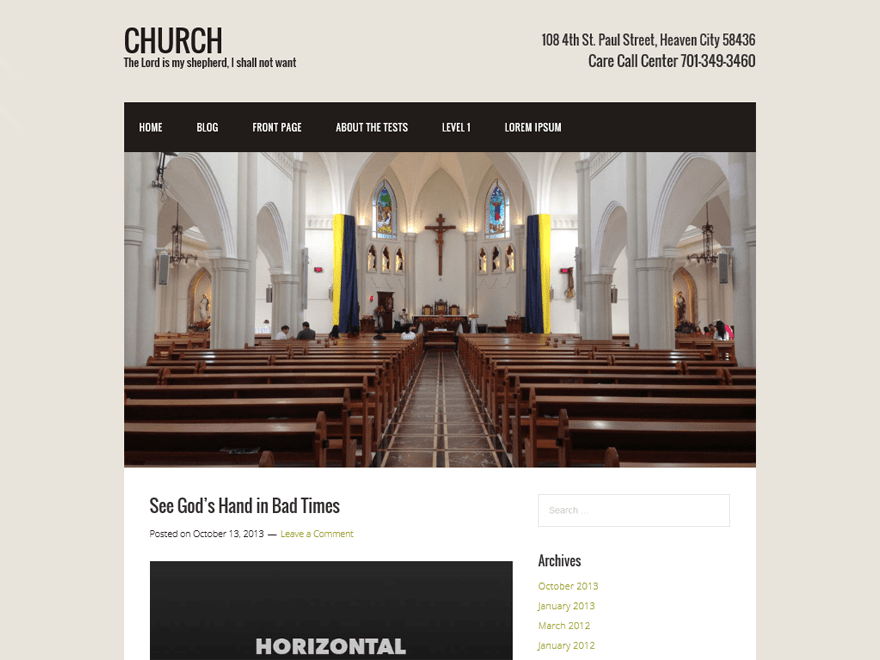 Church | WordPress.org