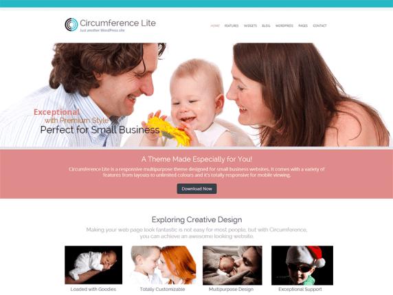 Circumference Lite wordpress theme