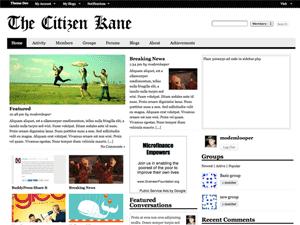 Citizen Kane wordpress theme