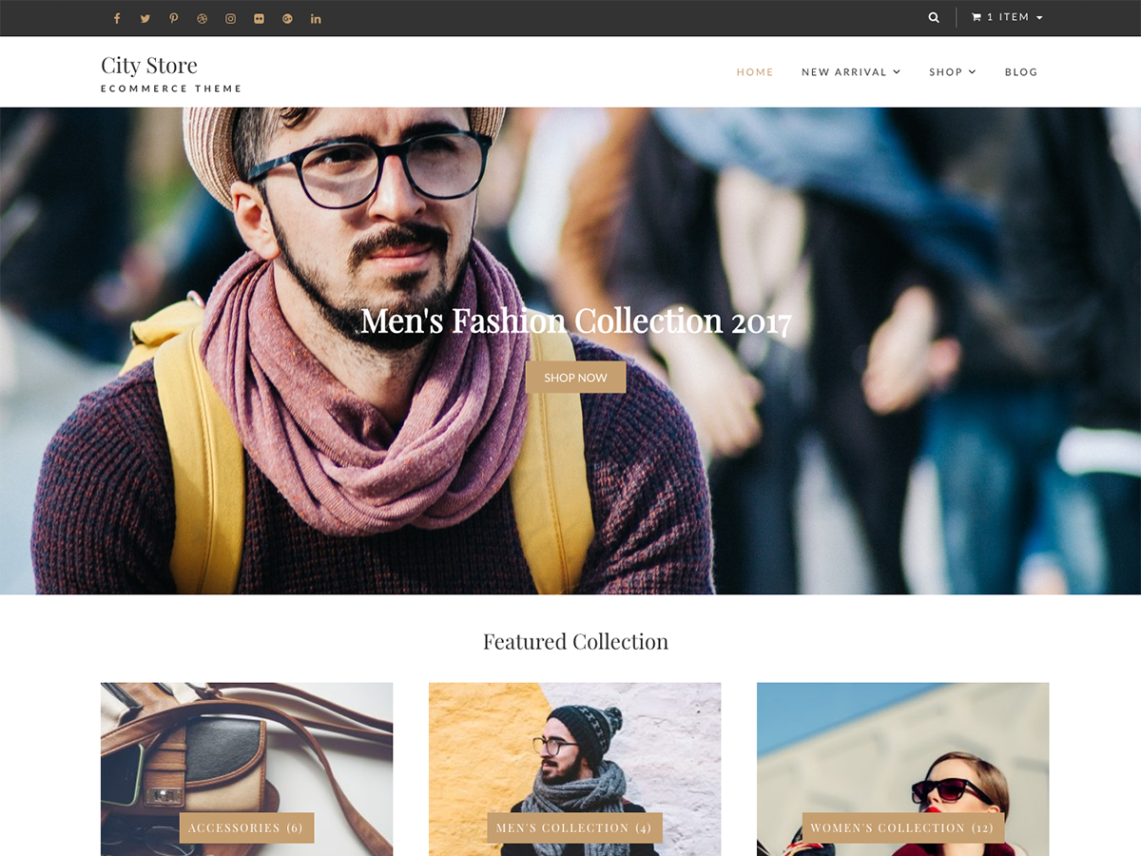 CityStore-free-responsive-popular-WordPress-themes-WPreviewteam