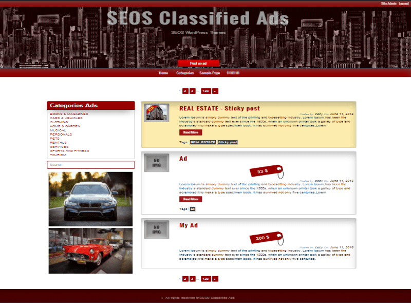free classified website