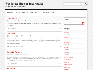 Clean and Clear free wordpress theme