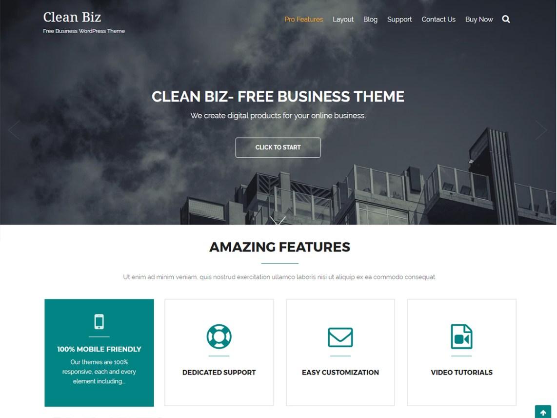 Clean Biz   WordPress.org