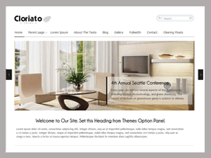 Cloriato Lite free wordpress theme