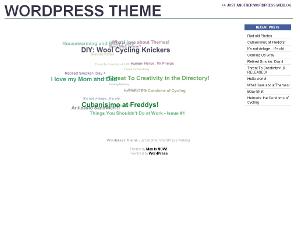 CloudClutter free wordpress theme
