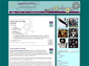 cogworks free wordpress theme