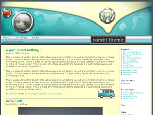 combivan free wordpress theme