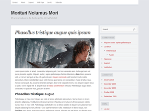 Comet free wordpress theme