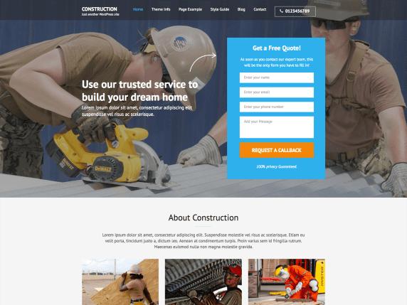 landing page | WordPress.org