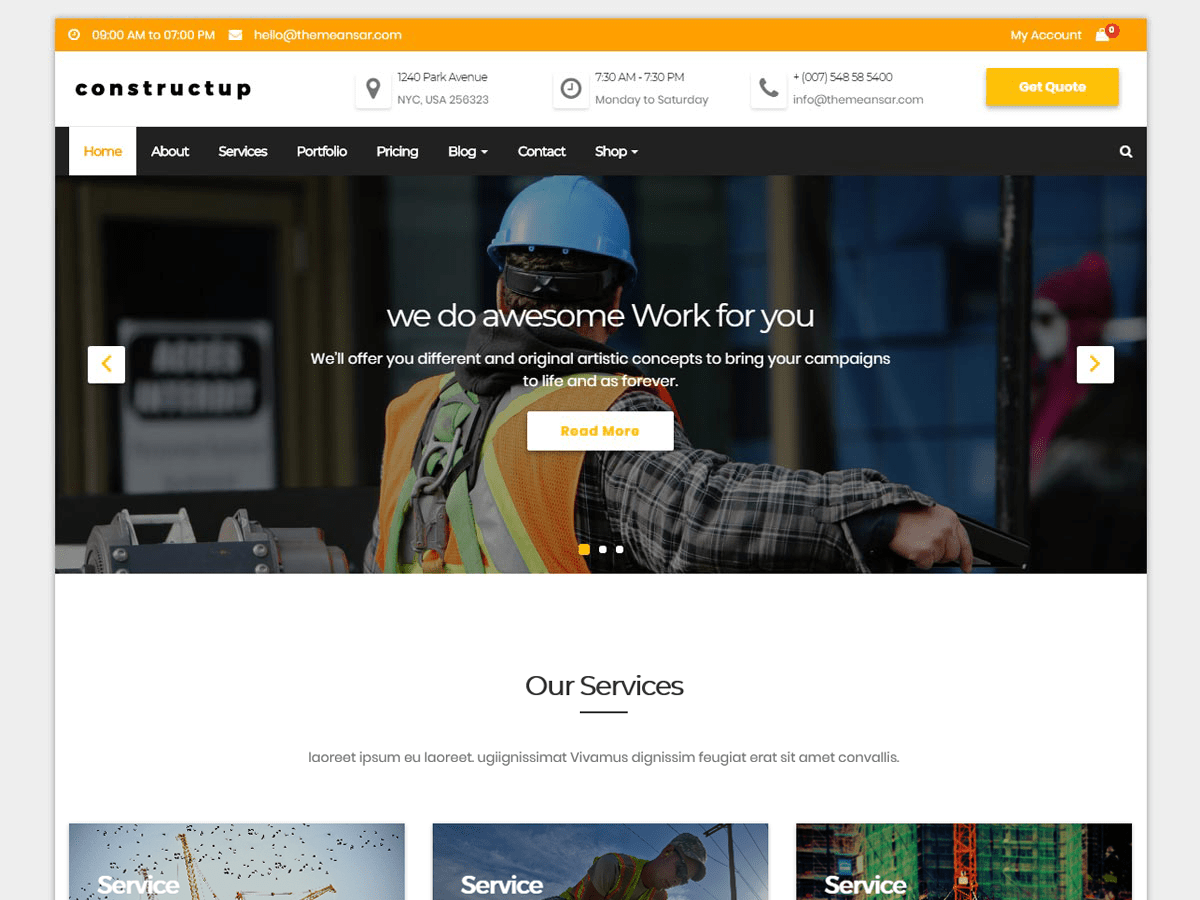Constructup - WordPress-Theme | WordPress.org Deutsch