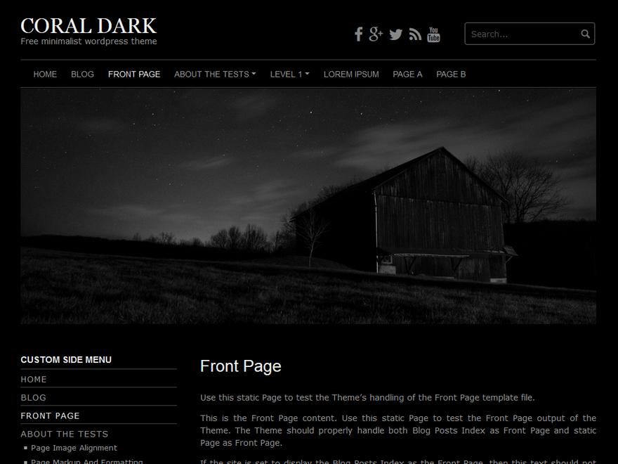 Coral Dark | WordPress.org