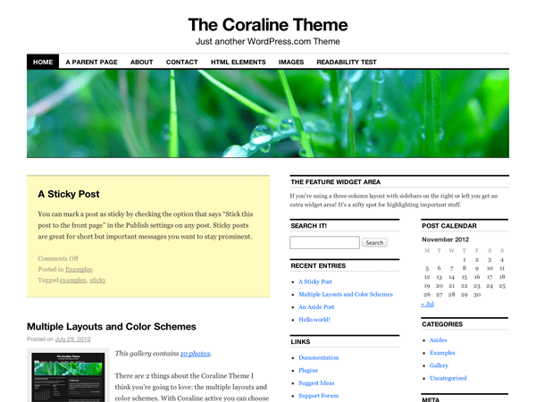 Coraline | WordPress.org