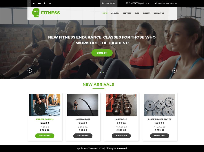Core Fitness | WordPress.org