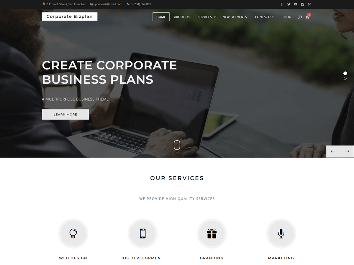 Corporate Bizplan