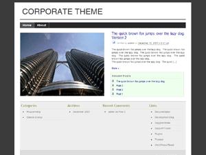 Corporate Theme v2 free wordpress theme