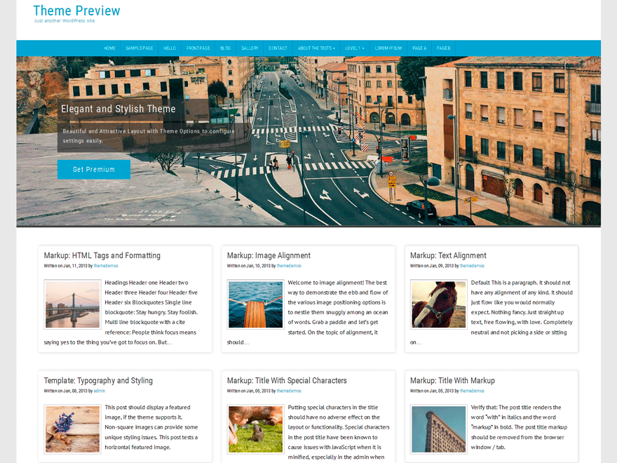 Counsel free wordpress theme