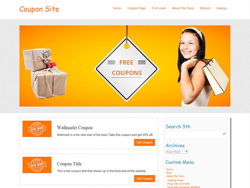 wordpress themes coupon code