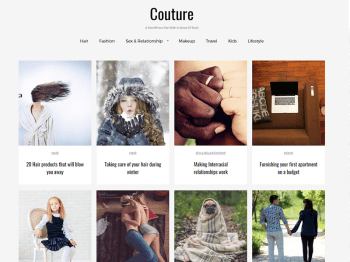 couture child theme