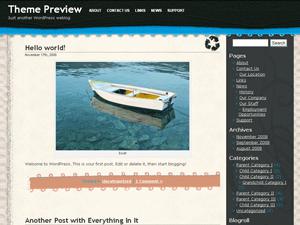 Crafty free wordpress theme