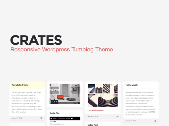 Crates wordpress theme