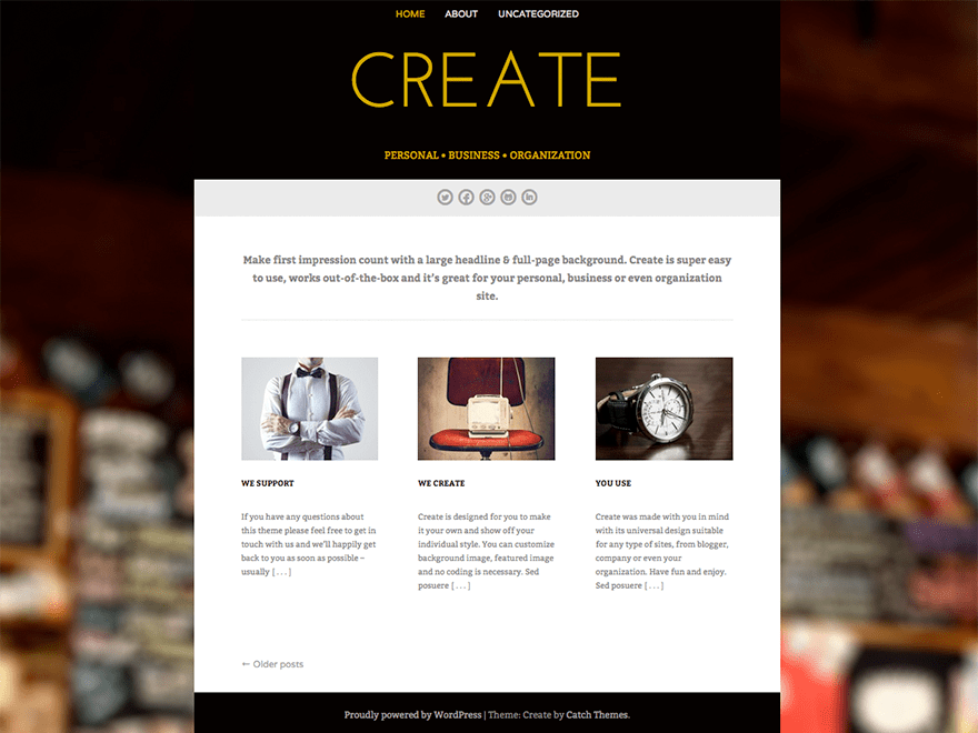 Create | WordPress.org