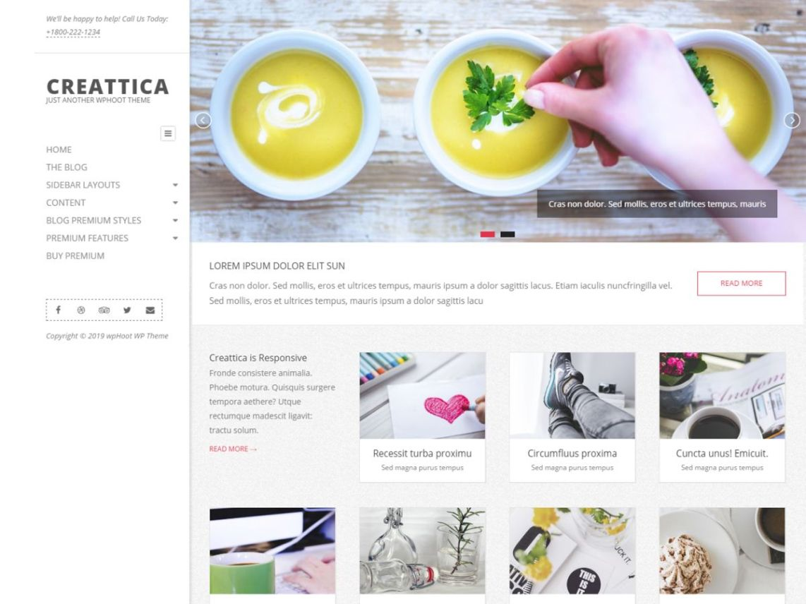 Creattica - WordPress theme | WordPress org