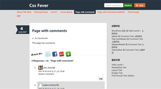 cssfever free wordpress theme