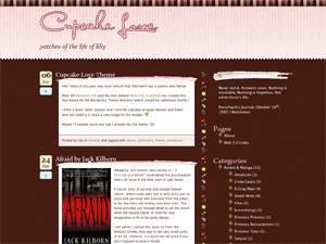 Cupcake Love wordpress theme