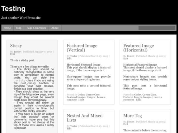 Curation wordpress theme