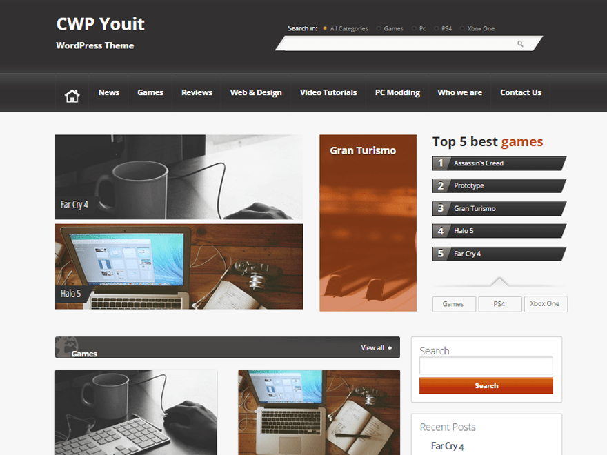 CWP-YouIT free wordpress theme