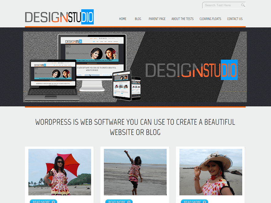 D5 Design free wordpress theme