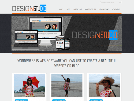 D5 Design wordpress theme