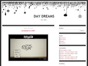 Daydreams wordpress theme