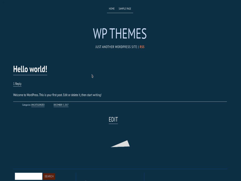 DeepFocus WordPress Theme Elegant