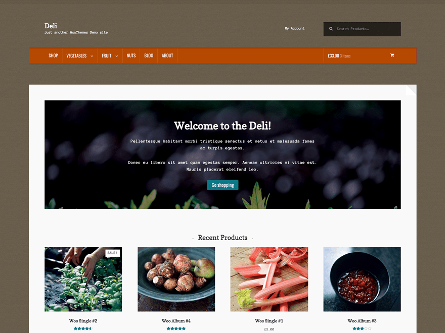 Deli free wordpress theme