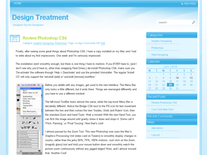 Design Treatment free wordpress theme
