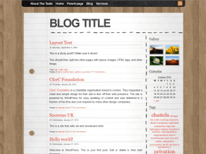 Desk free wordpress theme