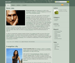 Devart free wordpress theme
