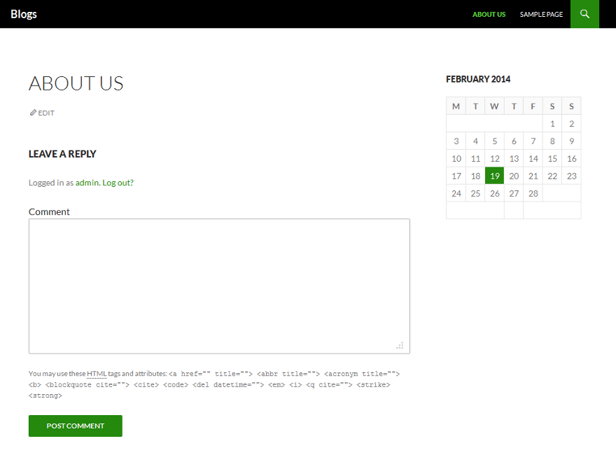 Developer 2014 theme wordpress gratuit