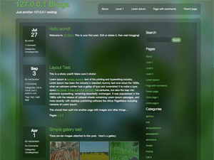 Dewdrop free wordpress theme