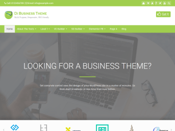 Di Business child theme