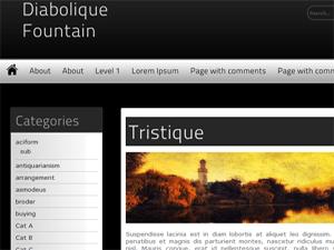 Diabolique Fountain free wordpress theme