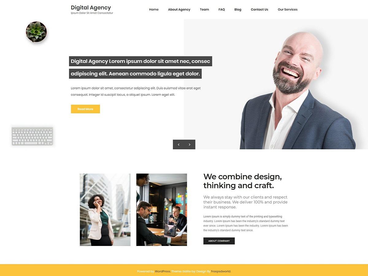 WordPress主题:Digital Agency