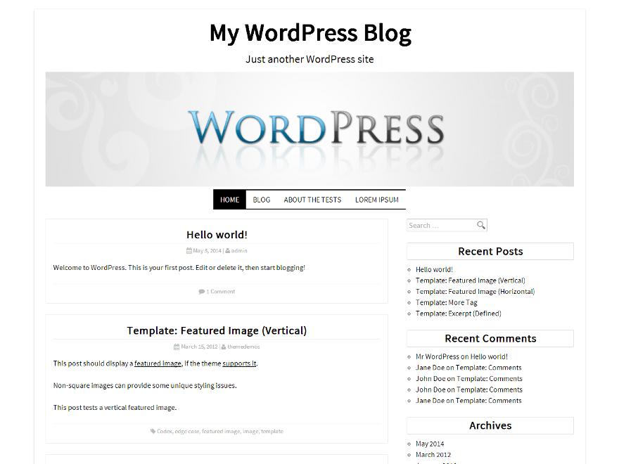 DK free wordpress theme