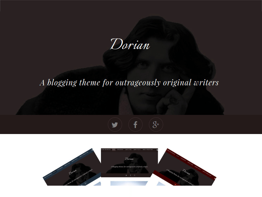 Dorian free wordpress theme