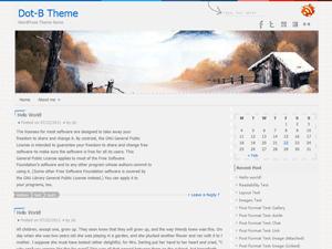 Dot-B free wordpress theme