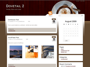 Dovetail free wordpress theme